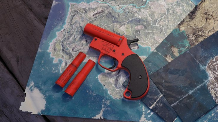 Top 7 Places in Battlegrounds Mobile to Find Flare Gun